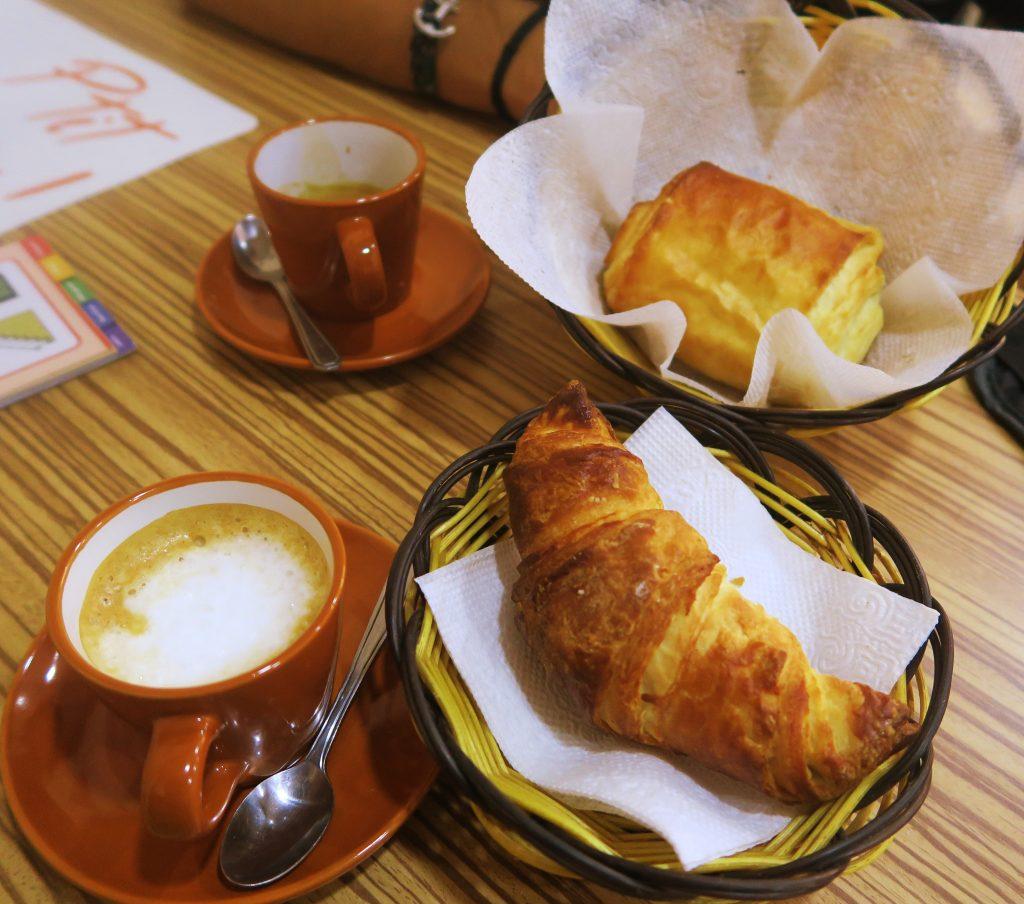 Pain choco & croissant