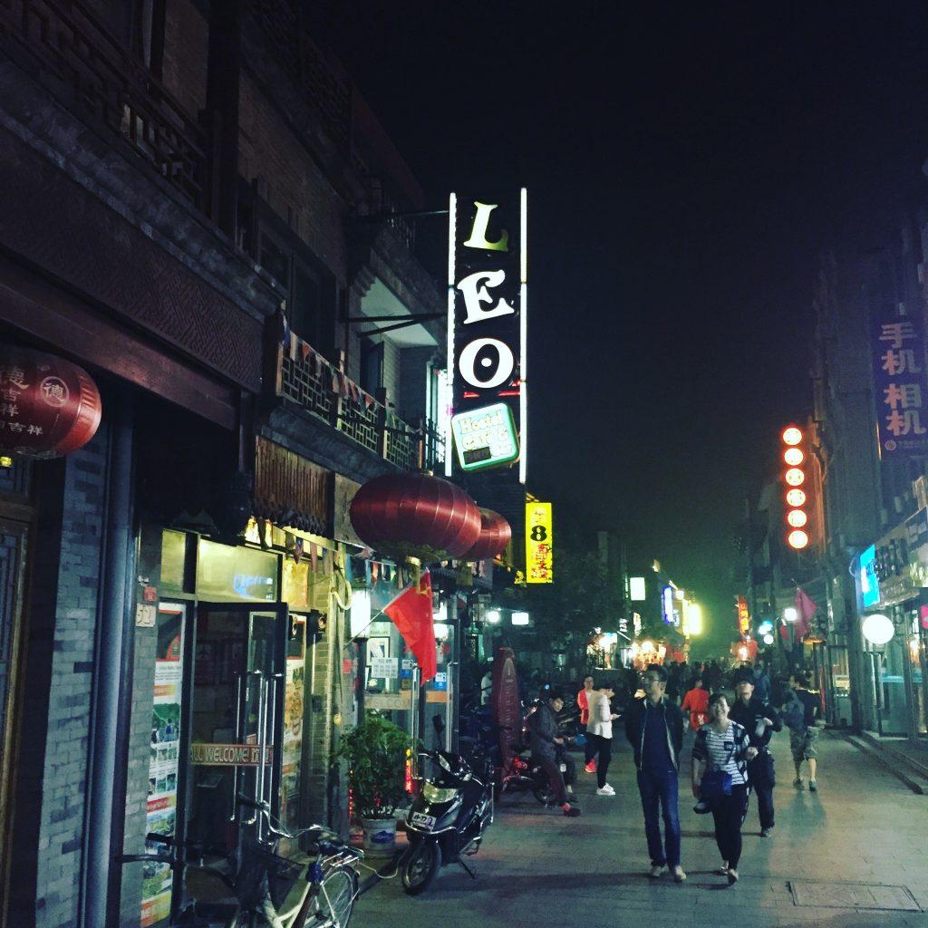 Léo à Pékin