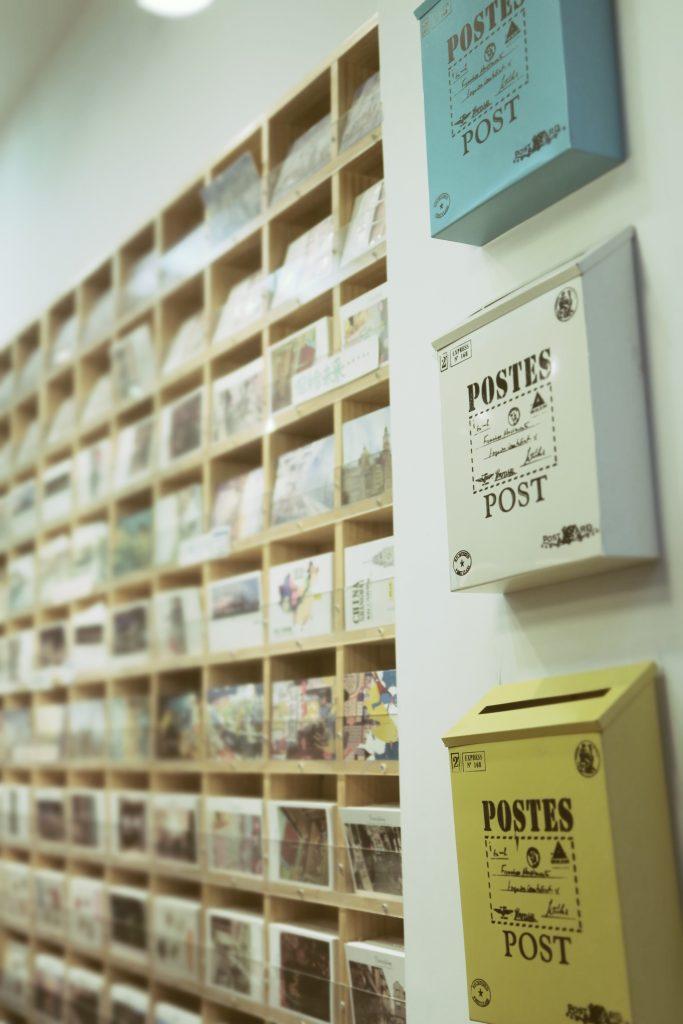 Postal cards love !