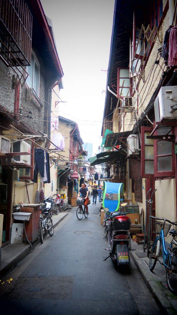 Petite ruelle de Shanghaï