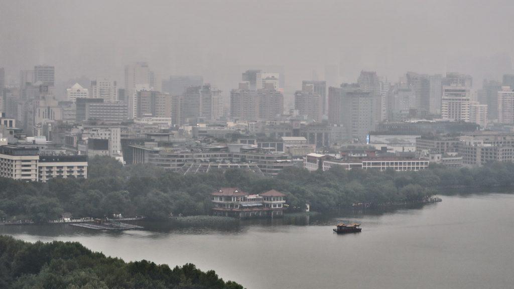 Vue sur Hangzhou