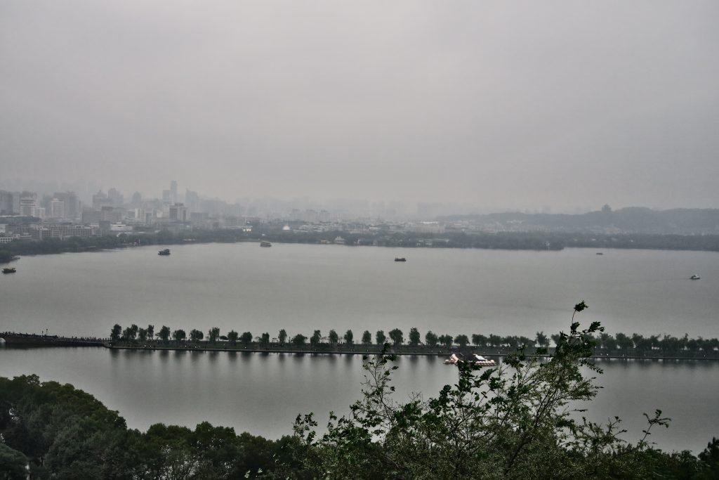 Vue sur le Parc d'Hangzhou