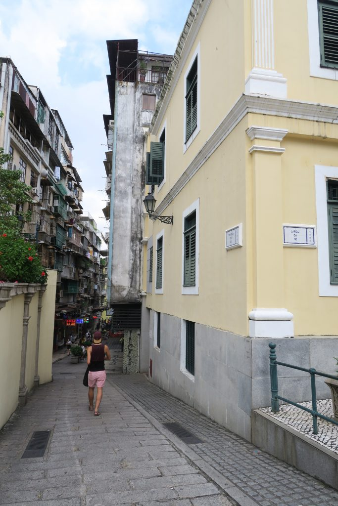 Zim dans les rues de Macao