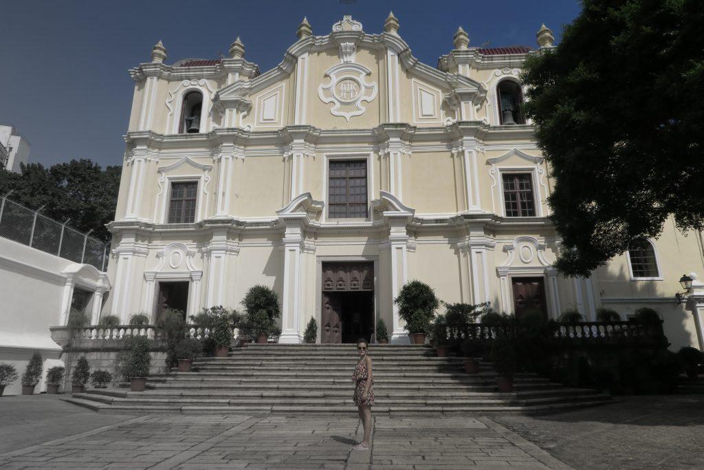 Beaucoup d'église à Macao