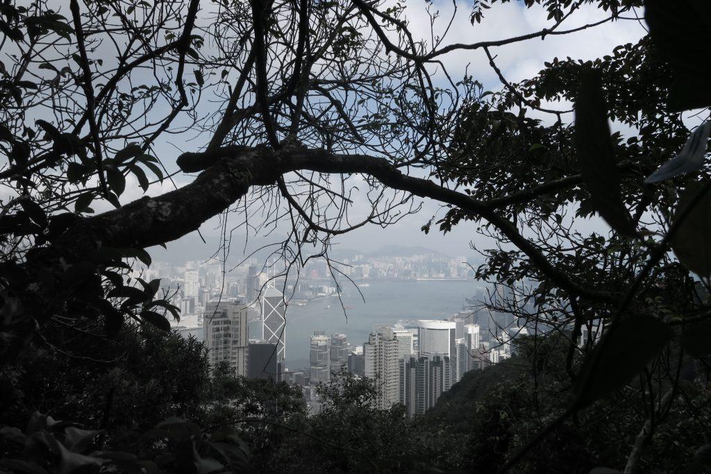 HK vu d'en haut