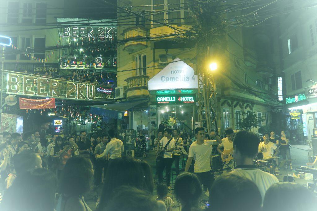 Hanoi le soir