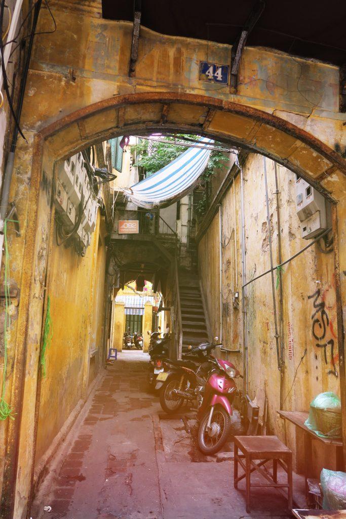 Quelque part dans Hanoi