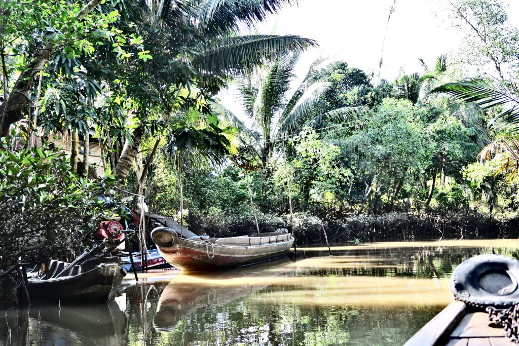 Canaux du Mékong