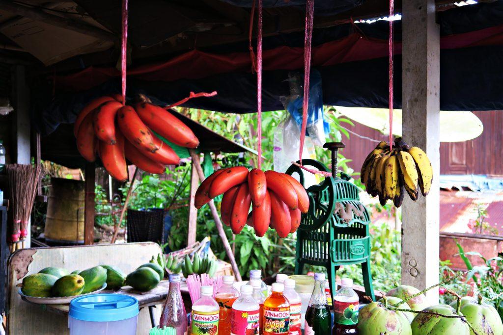 Banane rouge