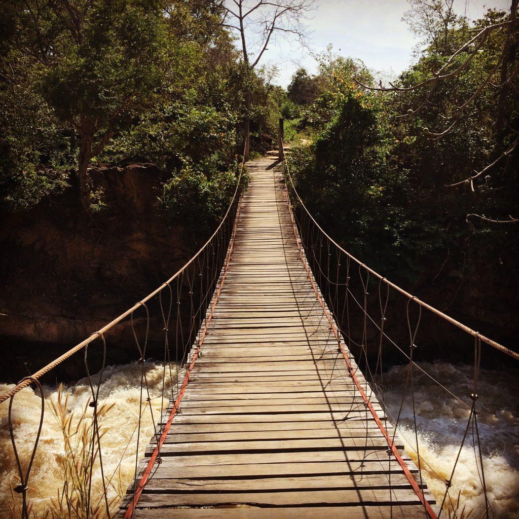 lao bridge