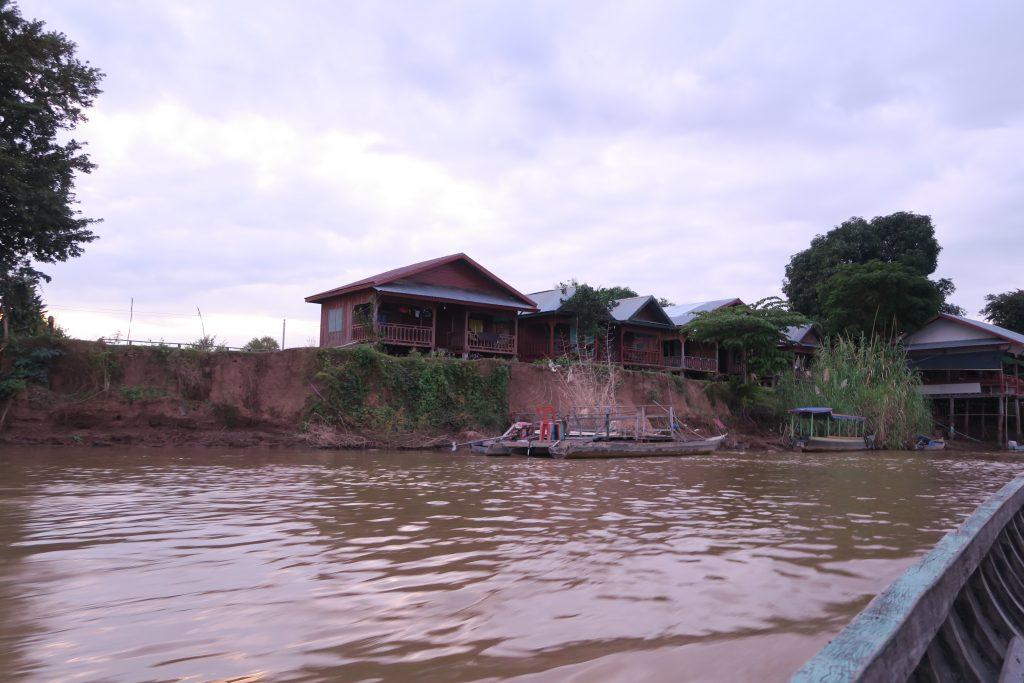 maison sur le Mékong