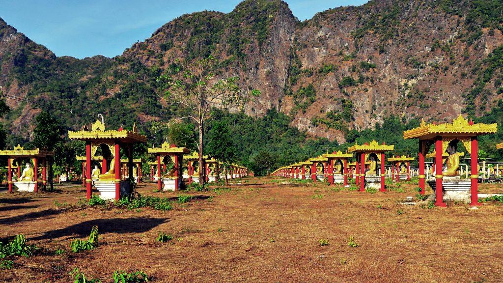 Jardin des bouddha