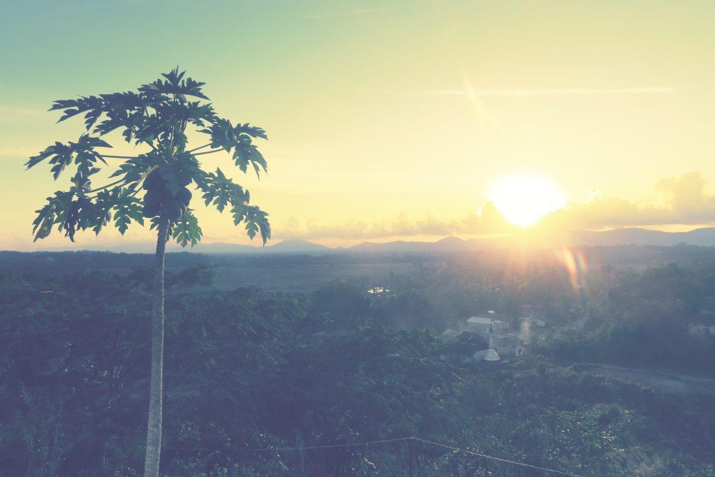 Coucher de soleil à Dawei