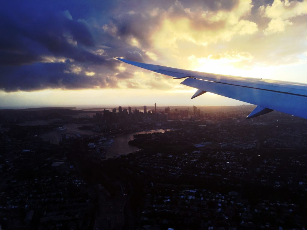 On aura vu Sydney d'en haut